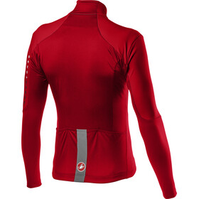 Castelli Nano Mid Wind LS Jersey Men red